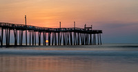 Sunrise at the Rodanthe Pier, Rodanthe, NC